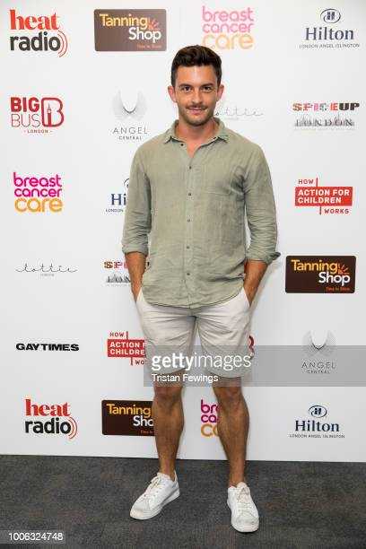 Jonathan Bailey attends the 'SpiceUp London' exhibition VIP launch at Business Design Centre on July 27 2018 in London England