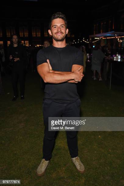 Jonathan Bailey attends the Summer Party at the VA in partnership with Harrods at the Victoria and Albert Museum on June 20 2018 in London England