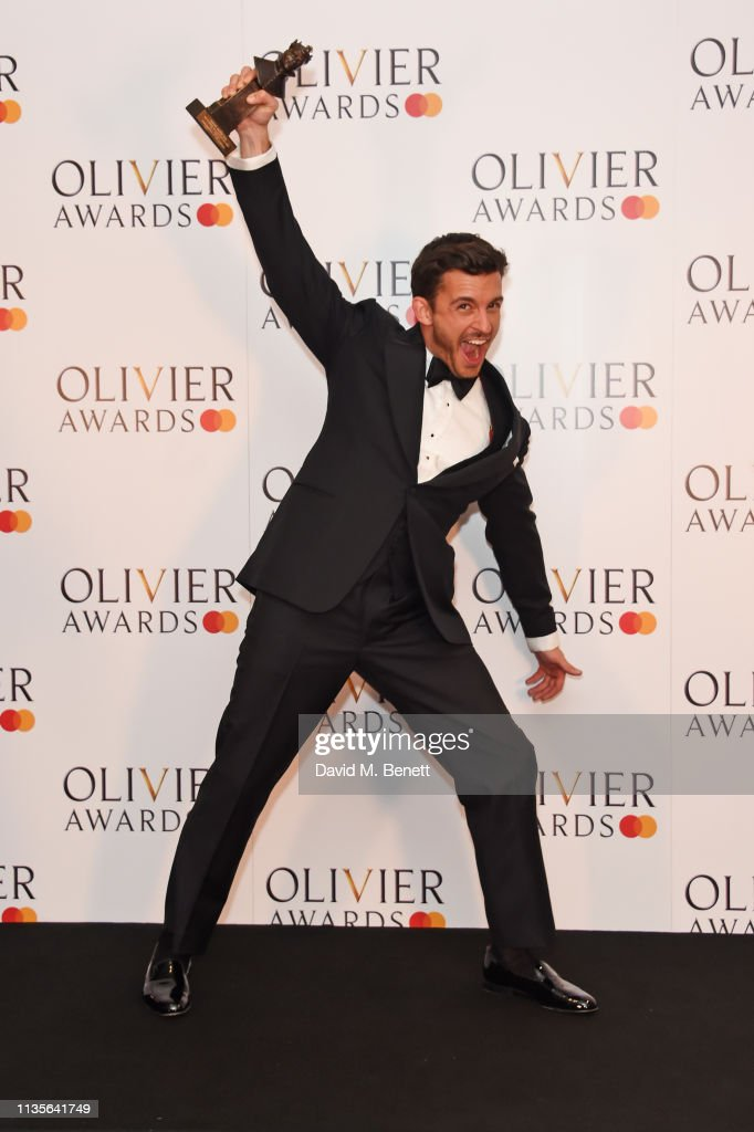 The Olivier Awards 2019 with Mastercard - Press Room : News Photo