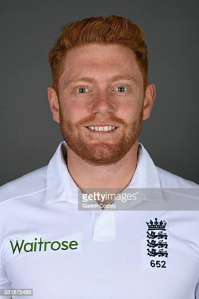 Jonathan Bairstow of England poses for a portrait at Headingley on May 17 2016 in Leeds England