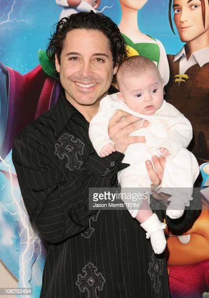 Jonathan Baker with his daughter Trease during LionsGate's 'Happily N'Ever After' Los Angeles Premiere at The Mann Festival Theater in Westwood...