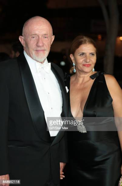 Jonathan Banks and Gennera Banks are seen on September 17, 2017 in Los Angeles, CA.