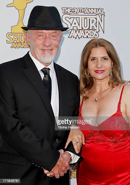 Jonathan Banks and Gennera Banks attend the Academy of Science Fiction, Fantasy & Horror Films 2013 Saturn Awards at The Castaway on June 26, 2013 in...