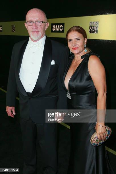 Jonathan Banks and Gennera Banks attend the AMC Networks 69th Primetime Emmy Awards AfterParty Celebration at BOA Steakhouse on September 17 2017 in...