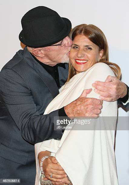 """Jonathan Banks and Gennera Banks attend the """"Better Call Saul"""" Los Angeles Series Premiere Screening held at Regal Cinemas L.A. Live on January 29,..."""