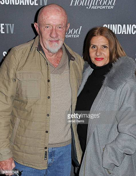 Jonathan Banks and Gennera Banks attend the The Hollywood Reporter and SundanceTV's 2016 Sundance Film Festival Kickoff Party on January 22, 2016 in...