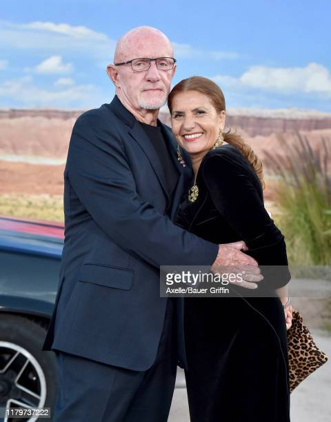 """Jonathan Banks and Gennera Banks attends the Premiere of Netflix's """"El Camino: A Breaking Bad Movie"""" at Regency Village Theatre on October 07, 2019..."""