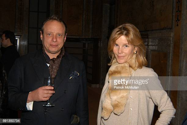 Jonathan Becker and Anna Scott attend Vanity Fair Editor Graydon Carter and SAKS Chairman and CEO Fred Wilson host a private screening of Eleanor...