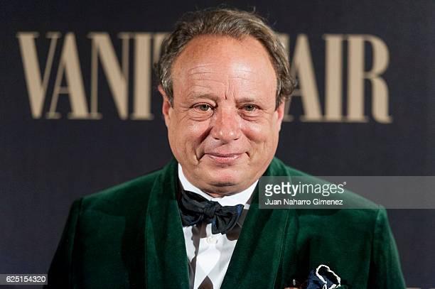 Jonathan Becker attend the gala dinner of Vanity Fair to commemorate its 100 number at Real Academia de Bellas Artes de San Fernando on November 22...