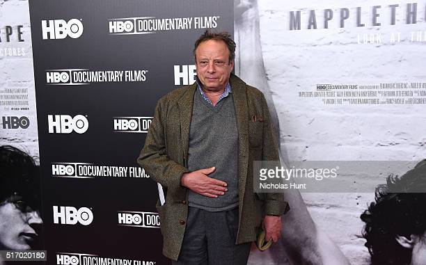 Jonathan Becker attends Mapplethorpe Look At The Pictures New York Premiere at Time Warner Center on March 22 2016 in New York City