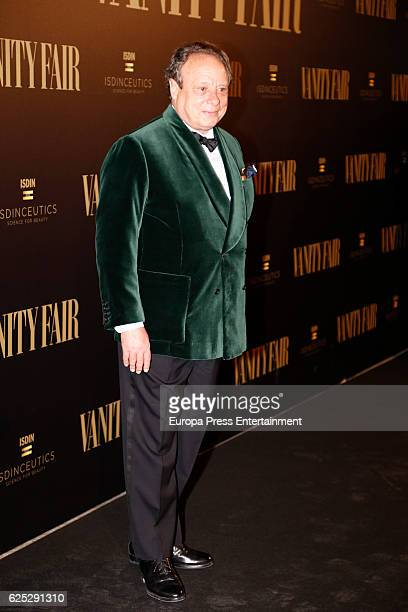 Jonathan Becker attends the gala dinner of Vanity Fair to commemorate its 100 number at Real Academia de Bellas Artes de San Fernando on November 22...