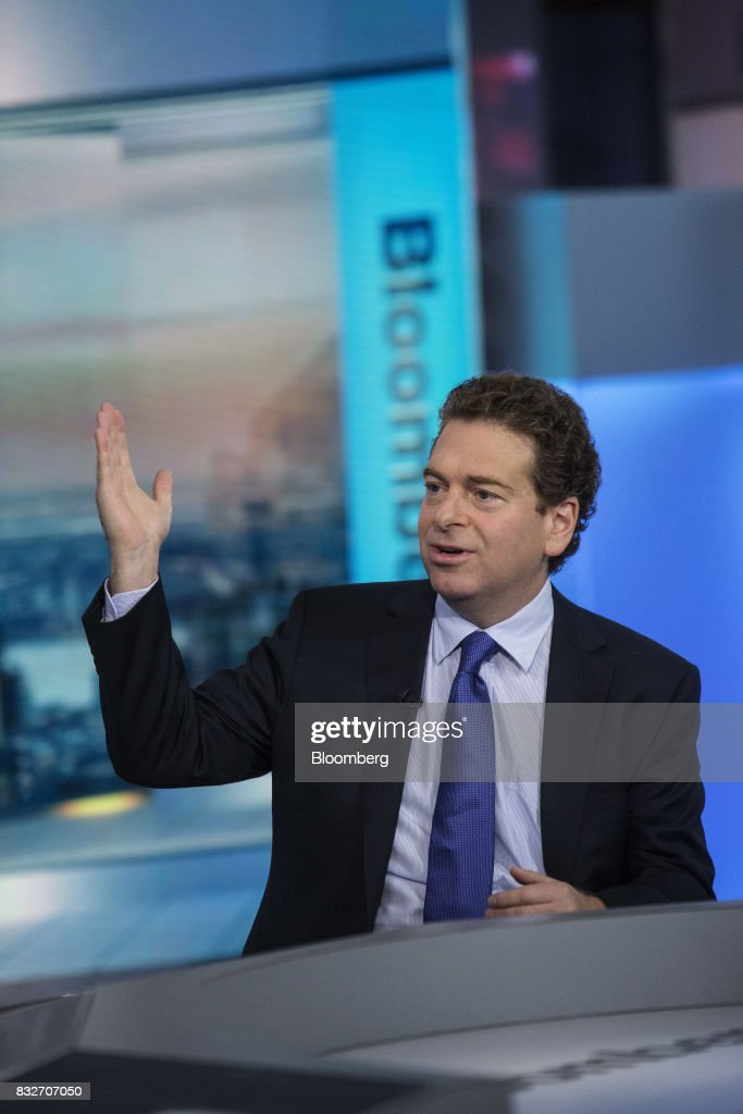 Jonathan Beinner, chief investment officer and partner of Goldman Sachs & Co., speaks during a Bloomberg Television interview in New York, U.S., on Wednesday, Aug. 16, 2017. Beinner previewed the release of the latest FOMC minutes. Photographer: Victor J. Blue/Bloomberg via Getty Images