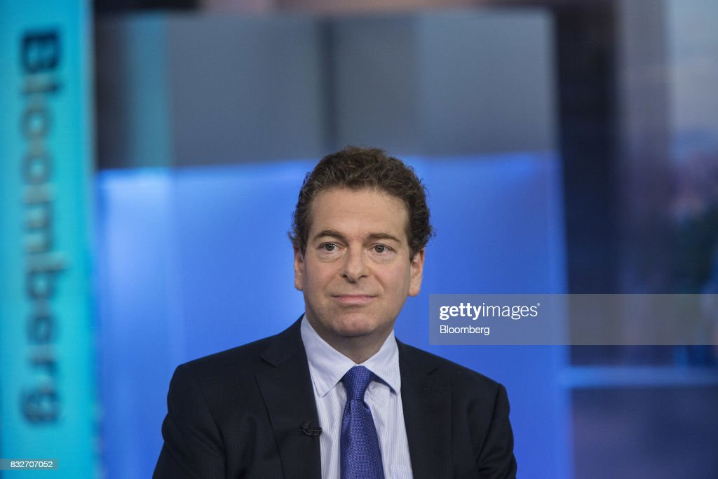 Jonathan Beinner, chief investment officer and partner of Goldman Sachs & Co., listens during a Bloomberg Television interview in New York, U.S., on Wednesday, Aug. 16, 2017. Beinner previewed the release of the latest FOMC minutes. Photographer: Victor J. Blue/Bloomberg via Getty Images