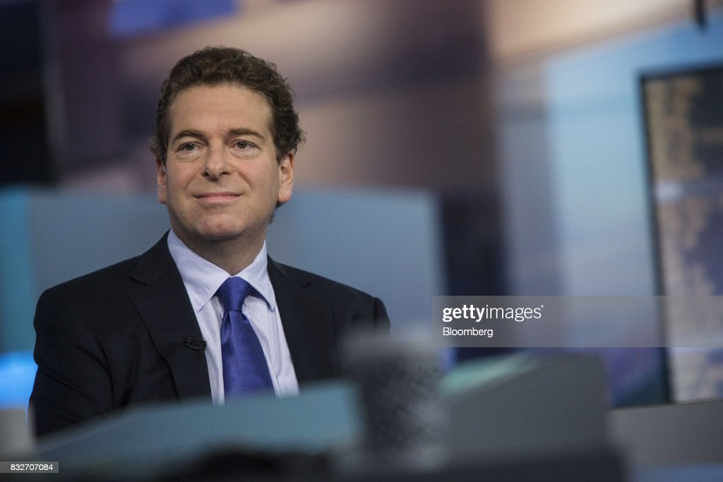 Jonathan Beinner, chief investment officer and partner of Goldman Sachs & Co., smiles during a Bloomberg Television interview in New York, U.S., on Wednesday, Aug. 16, 2017. Beinner previewed the release of the latest FOMC minutes. Photographer: Victor J. Blue/Bloomberg via Getty Images