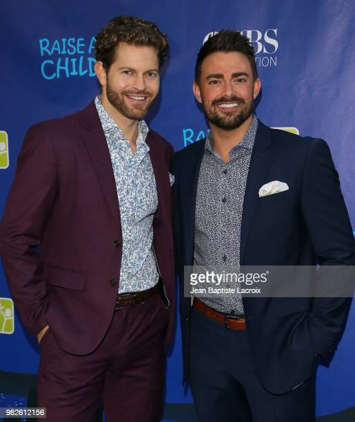 Jonathan Bennett attends the 6th Annual RaiseAChild HONORS The Summer Party Gala held at Jim Henson Studios on June 23 2018 in Hollywood California