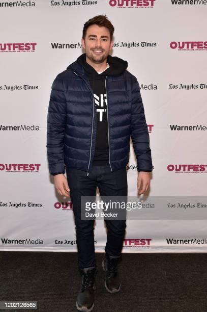 Jonathan Bennett attends the Outfest Queer brunch at Kimball Terrace during the 2020 Sundance Film Festival on January 26 2020 in Park City Utah