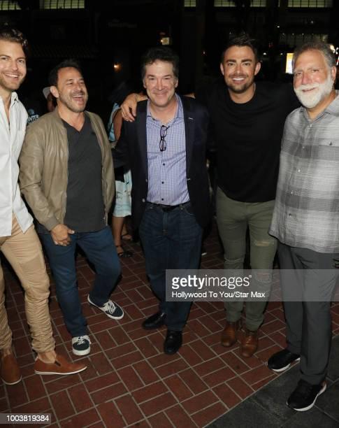 Jonathan Bennett David Garber David Rimawai and David Michael Latt are seen on July 21 2018 at ComicCon in San Diego CA