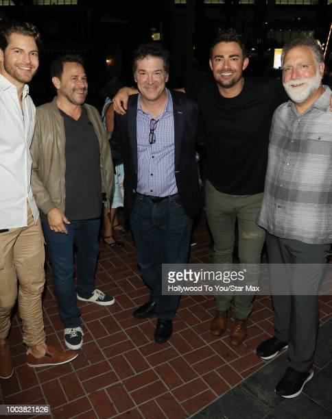 Jonathan Bennett David Garber David Rimawi David Michael Latt are seen on July 21 2018 at ComicCon in San Diego CA