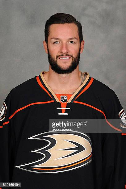 Jonathan Bernier of the Anaheim Ducks poses for his official headshot for the 20162017 season on September 22 2016 at Honda Center in Anaheim...