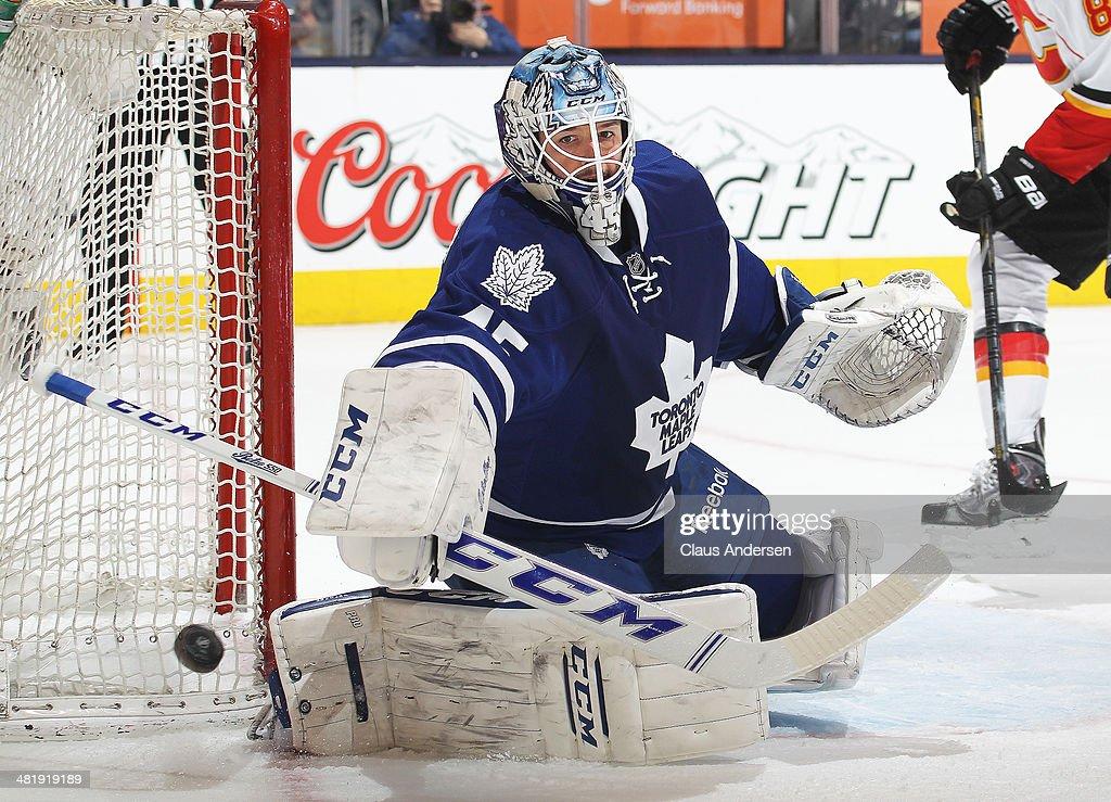 Calgary Flames v Toronto Maple Leafs : News Photo