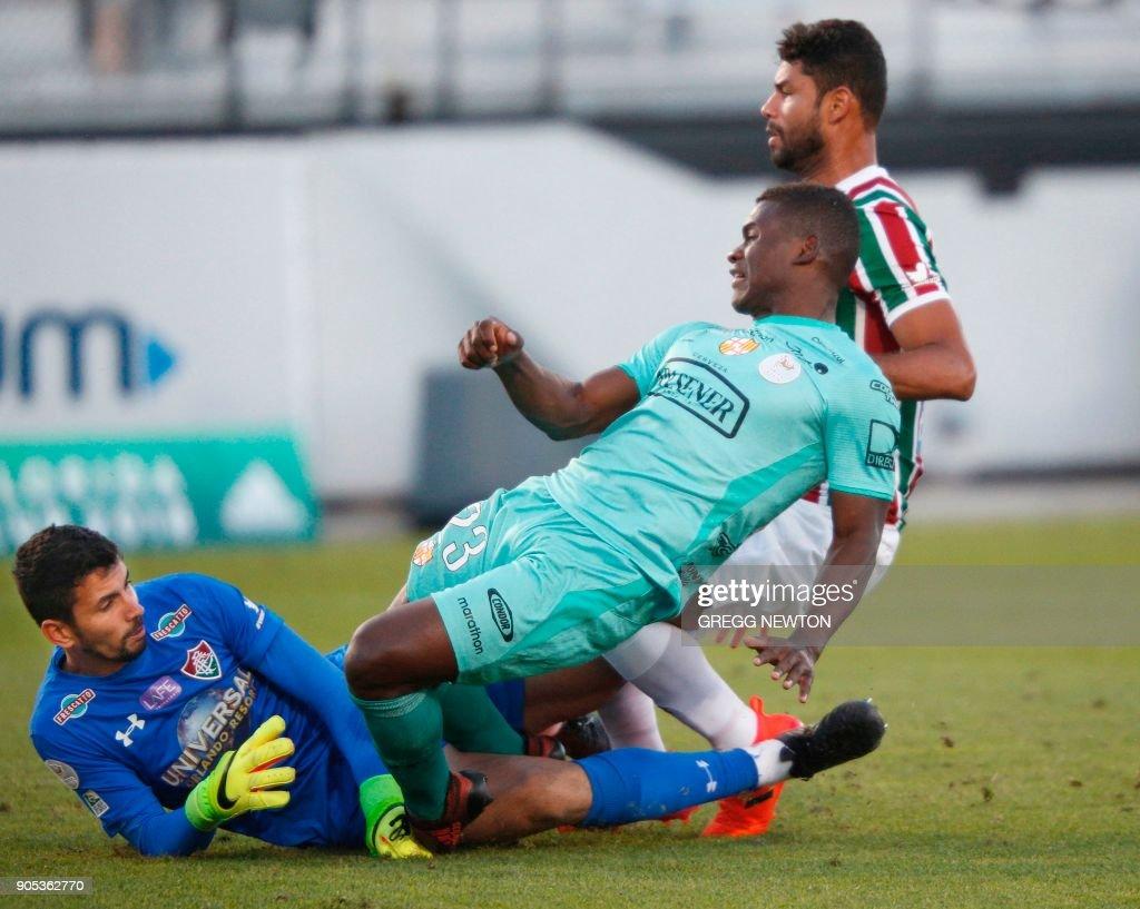 Brazil's Fluminense v Ecuador's Barcelona SC - Florida Cup