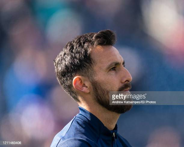 Jonathan Bornstein of Chicago Fire during a game between Chicago Fire and New England Revolution at Gillette Stadium on March 7 2020 in Foxborough...
