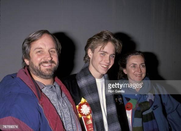 Jonathan Brandis and parents Mary & Greg News Photo