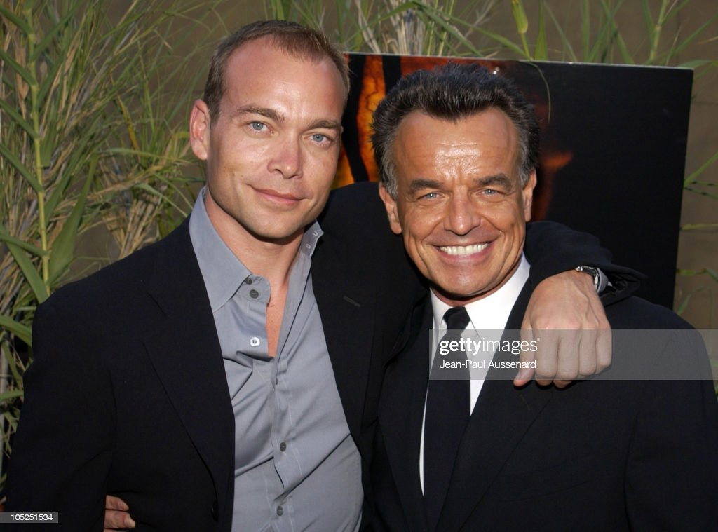 Jonathan Breck and Ray Wise during 'Jeepers Creepers 2' Los Angeles Premiere in Hollywood, California, United States.