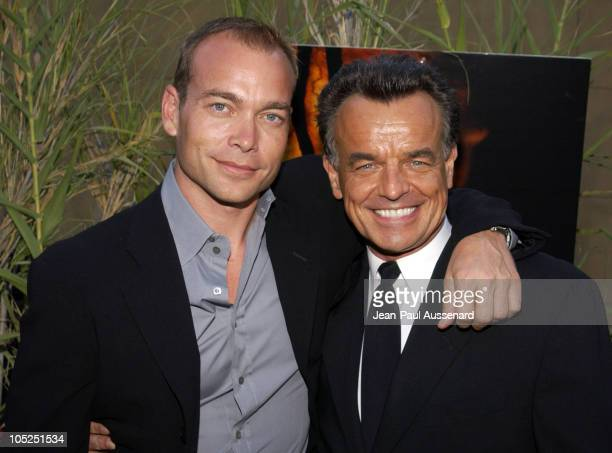 Jonathan Breck and Ray Wise during 'Jeepers Creepers 2' Los Angeles Premiere in Hollywood California United States