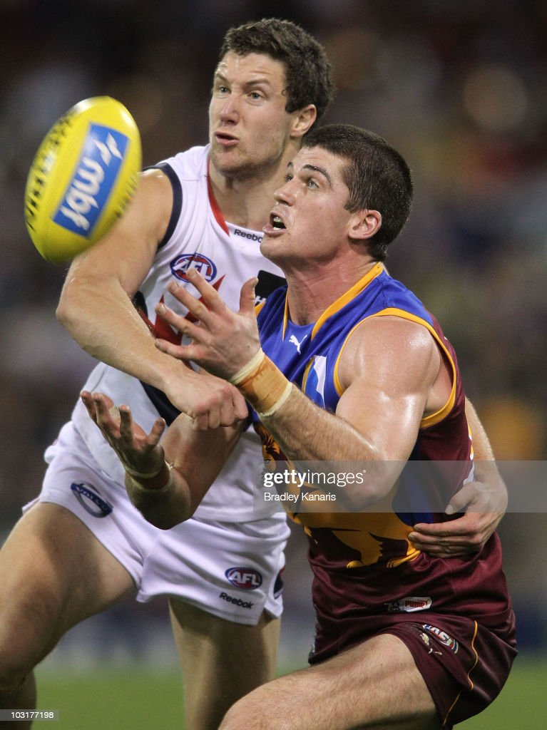 AFL Rd 18 - Lions v Demons