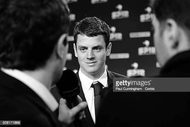 Jonathan Brownlee arrives at the Excel Centre in London for the BBC Sports Personality of the Year Awards 2012 , London. 16 December 2012 June 2012...