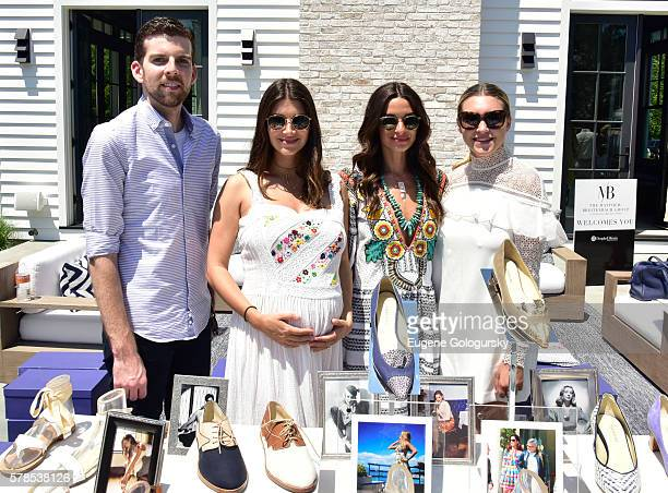 Jonathan Burdin Jenna Crespi Candice Miller and Stephanie Centrone attend the Hamptons Magazine London Jewelers Host a Luxury Shopping Afternoon on...