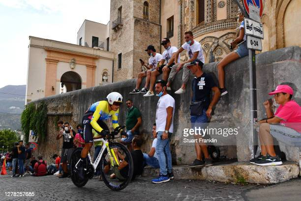 Jonathan Caicedo Cepeda of Ecuador and Team EF Pro Cycling / Duomo di Monreale / Monte Caputo / Cathedral / Public / Fans / during the 103rd Giro...