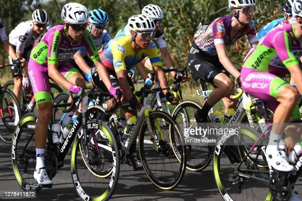 Jonathan Caicedo Cepeda of Ecuador and Team EF Pro Cycling / James Whelan of Australia and Team EF Pro Cycling / during the 103rd Giro d'Italia 2020,...