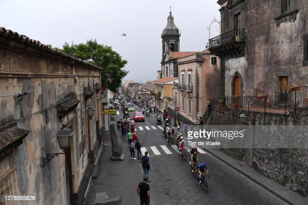 Jonathan Caicedo Cepeda of Ecuador and Team EF Pro Cycling / Josip Rumac of Croatia and Team Androni Giocattoli Sidermec / Giovanni Visconti of Italy...