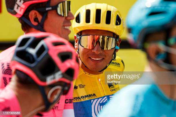 Jonathan Caicedo from Ecuador of EF Education - NIPPO during the 100th Volta Ciclista a Catalunya 2021, Stage 1 from Calella to Calella. On March 22,...