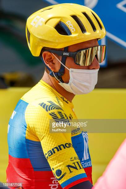 Jonathan Caicedo from Ecuador of EF Education - NIPPO portrait, during the 100th Volta Ciclista a Catalunya 2021, Stage 1 from Calella to Calella. On...