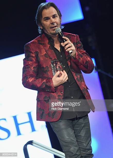 Jonathan Cain Band member Journey/Board Member attends 2016 MakeAWish Stars For Wishes at the Gaylord Opryland Hotel on January 16 2016 in Nashville...
