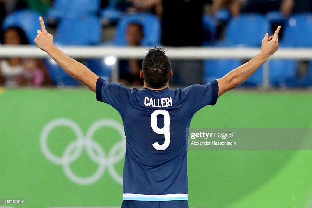 Argentina v Algeria: Men's Football - Olympics: Day 2