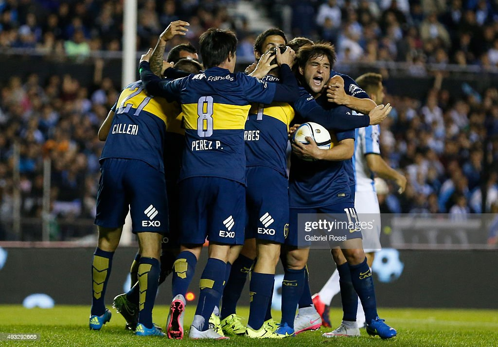 Racing Club v Boca Juniors - Torneo Primera Division 2015