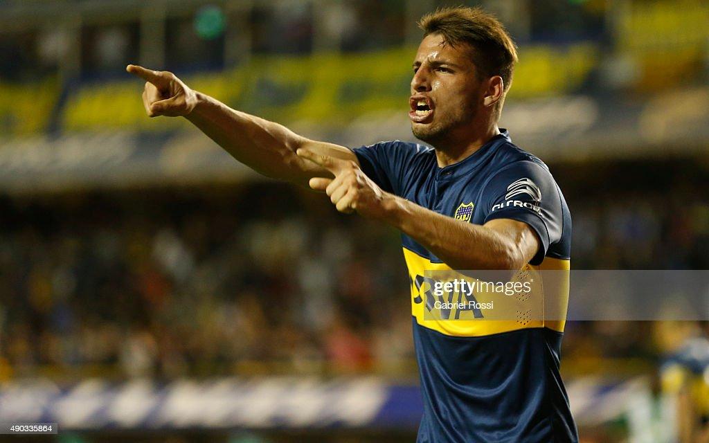 Boca Juniors v Banfield - Torneo Primera Division 2015