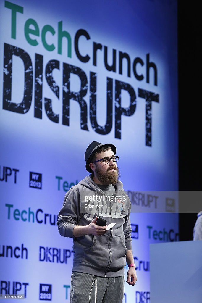 Jonathan Caras presents Glide onstage at the TechCrunch Disrupt NY 2013 at The Manhattan Center on April 29, 2013 in New York City.