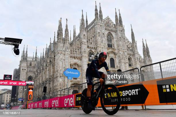 Jonathan Castroviejo of Spain and Team INEOS Grenadiers / Duomo di Milano / Milan Cathedral / during the 103rd Giro d'Italia 2020, Stage 21 a 15,7km...