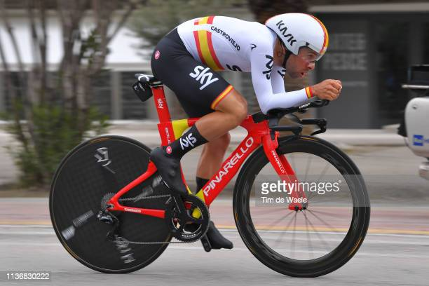 Jonathan Castroviejo of Spain and Team Sky / during the 54th Tirreno-Adriatico 2019, Stage 7 a 10,05km Individual Time Trial stage from San Benedetto...