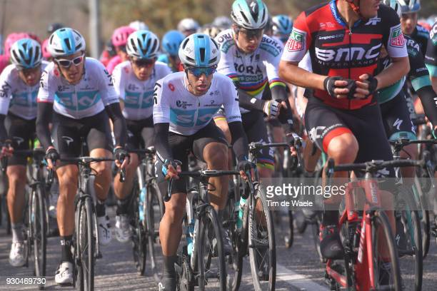 Jonathan Castroviejo of Spain / Geraint Thomas of Great Britain / Peter Sagan of Slovakia / during the 53rd TirrenoAdriatico 2018 Stage 5 a 178km...