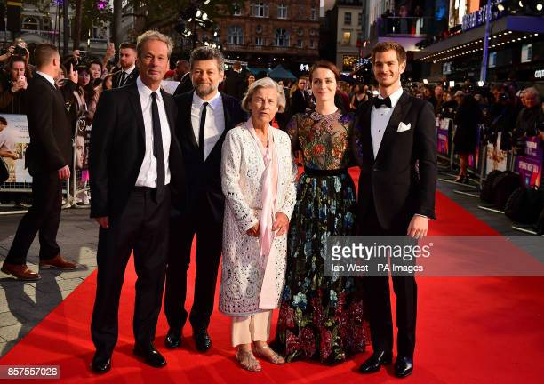 Jonathan Cavendish Andy Serkis Diana Cavendish Claire Foy and Andrew Garfield arriving for the Opening Night Gala screening of Breathe held at Odeon...