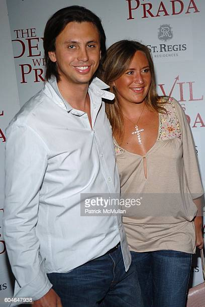 Jonathan Cheban and Angelina Anisimova attend Special Screening of 20th Century Fox's 'The Devil Wears Prada' at Southampton Theater on June 24 2006...