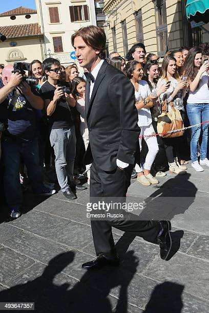 Jonathan Cheban attend the Wedding Of Kim Kardashian And Kanye West In Florence at Four Season Hotel on May 24 2014 in Florence Italy