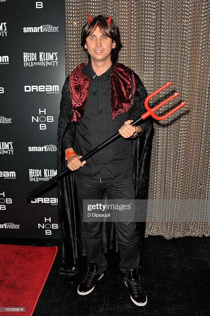 Jonathan Cheban attends Heidi Klum's 12th annual Halloween party at the PH-D Rooftop Lounge at Dream Downtown on October 31, 2011 in New York City.