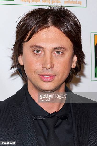 Jonathan Cheban attends the '2010 Celebrity Skee Ball Tournament' to benefit the Dian Fossey Gorilla Fund International at Dave and Busters in New...